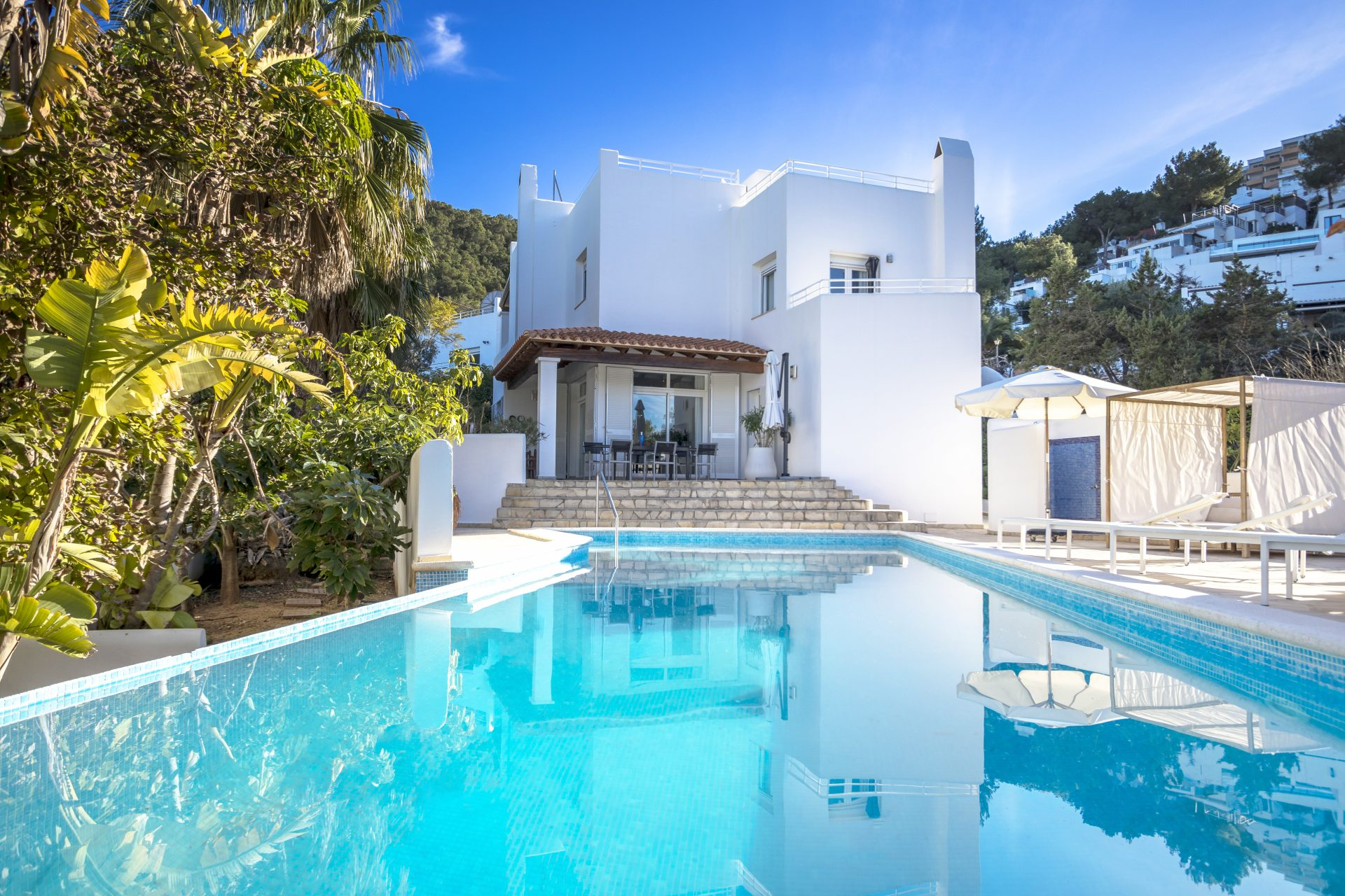 Architekten Villa in Ibiza